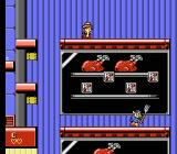 Disney's Chip 'N Dale Rescue Rangers 2 NES Passing by the ovens