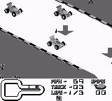 Super R.C. Pro-Am Game Boy Gameplay Screen 1