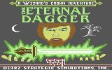 The Eternal Dagger Commodore 64 Loading screen