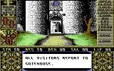 Elvira Commodore 64 Starting location