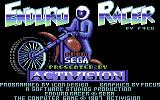 Enduro Racer Commodore 64 Title screen