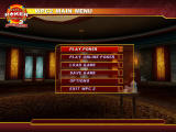 World Poker Championship 2: Final Table Showdown Windows Main Menu
