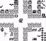 Ultima: Runes of Virtue Game Boy Cavern of Hatred