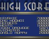Minskies: The Abduction Amiga (AGA) High scores