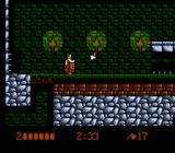 Bram Stoker's Dracula NES Weapon upgrade-- throwable axes
