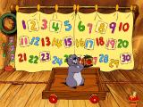 Disney's Ready For Math With Pooh Windows Gopher showing the prize won for the garden