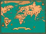 The Adventures of Valdo & Marie Windows 3.x World map