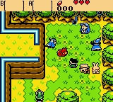 The Legend of Zelda: Oracle of Ages Game Boy Color Playing Minstral