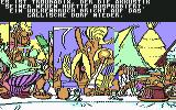 Asterix and the Magic Carpet Commodore 64 Your choice affects what character appears on screen