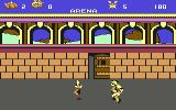 Asterix and the Magic Cauldron Commodore 64 Fighting in the arena