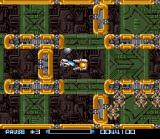Super R-Type SNES In this level the terrain changes as you progress.