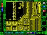 Star Dust ZX Spectrum The satellite is scenery; the ship chasing me isn't