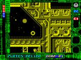 Star Dust ZX Spectrum Different types of enemy droids