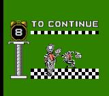 Beetlejuice NES Continue screen