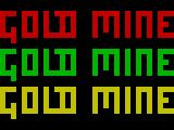 Gold Mine ZX Spectrum Loading screen