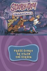 Scooby-Doo!: Unmasked Nintendo DS Title screen.