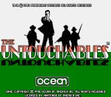 The Untouchables NES Title screen