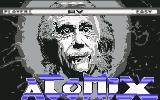 Atomix Commodore 64 Title