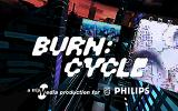 Burn:Cycle Windows 3.x Title screen