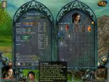 GODS: Lands of Infinity (Special Edition) Windows The character stats screen