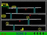 Monkey Bizness ZX Spectrum Game start