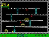 Monkey Bizness ZX Spectrum On the ladder
