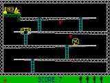 Monkey Bizness ZX Spectrum Safe from contact due to the mallet