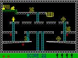 Monkey Bizness ZX Spectrum Can't climb, but safe.