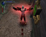 "The Legacy of Kain Series: Blood Omen 2 Windows Feeding on enough victims allows Kain to increase his strength. Here he's ""leveling up""."