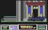 Back to the Future Part II Commodore 64 The doc's car picks up Marty