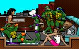 Teenage Mutant Ninja Turtles: Manhattan Missions DOS It's all about... pizza!