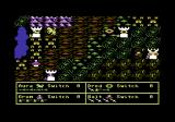 Darkhorn: Realm of the Warlords Commodore 64 Game start, on C this time