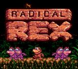 Radical Rex Genesis Title screen