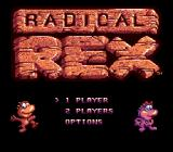 Radical Rex Genesis Main game screen