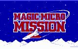 Magic Micro Mission Commodore 64 Loading screen