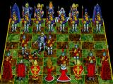 Battle Chess Enhanced CD ROM DOS Knight takes pawn.