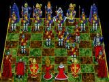 Battle Chess: Enhanced CD-ROM DOS Pawn takes pawn.