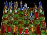 Battle Chess: Enhanced CD-ROM DOS Bishop takes pawn.