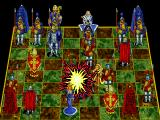 Battle Chess Enhanced CD ROM DOS King takes knight.