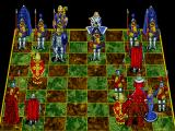 Battle Chess Enhanced CD ROM DOS Queen takes rook.