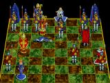 Battle Chess Enhanced CD ROM DOS Bishop takes knight.