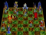 Battle Chess Enhanced CD ROM DOS Pawn takes bishop.