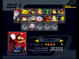 Super Smash Bros.: Melee GameCube choose a character