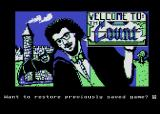 Scott Adams' Graphic Adventure #5: The Count Atari 8-bit Title screen