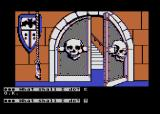 Scott Adams' Graphic Adventure #5: The Count Atari 8-bit What a creepy looking door...