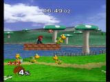 Super Smash Bros.: Melee GameCube 1 player adventure mode