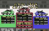 Badlands Commodore 64 Race results