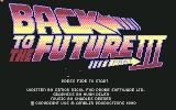 Back to the Future Part III Commodore 64 Startup