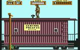 Back to the Future Part III Commodore 64 The train