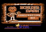 Boulder Dash Construction Kit Atari 8-bit Title screen